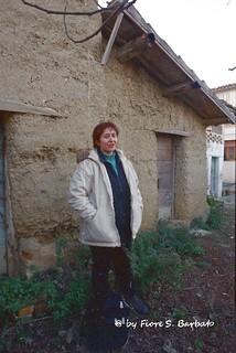 Casalincontrada (CH), 2000, Le case di argilla cruda.