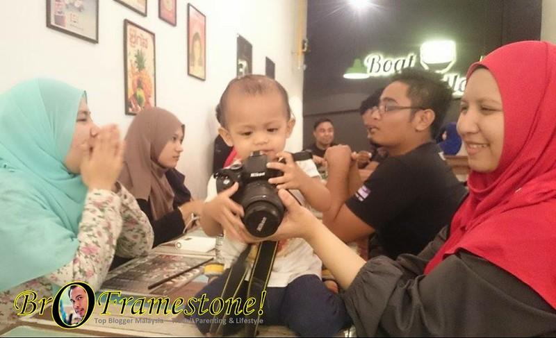 Baby Fisha dan DSLR Nikon D5100