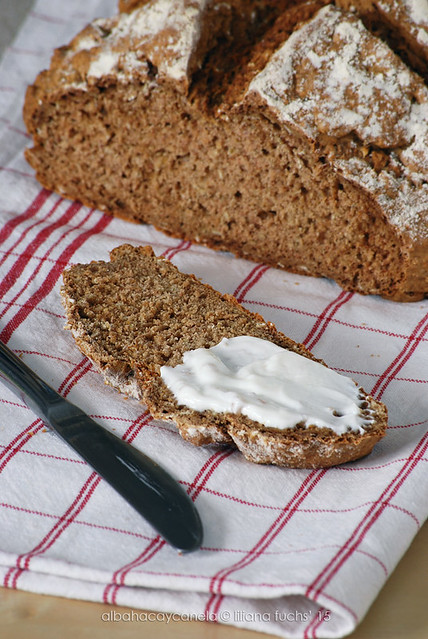 Soda bread with Buckwheat flour