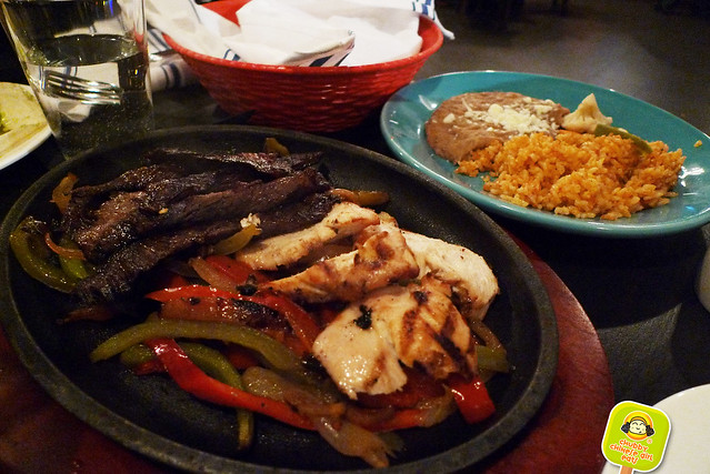 el original - NYC tex mex - fajita with chicken and beef