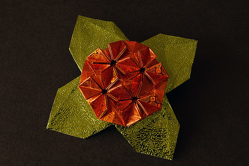 Origami Brooch (Shuzo Fujimoto)
