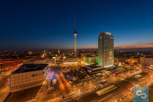 Berlin Skyline am Alex