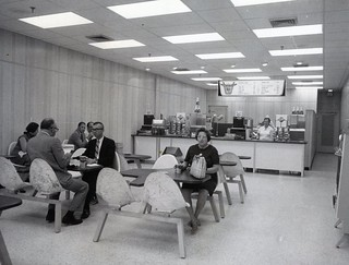 NEBA Roast Beef Restaurant Interior St Petersburg, Fl  1969 Press Photo