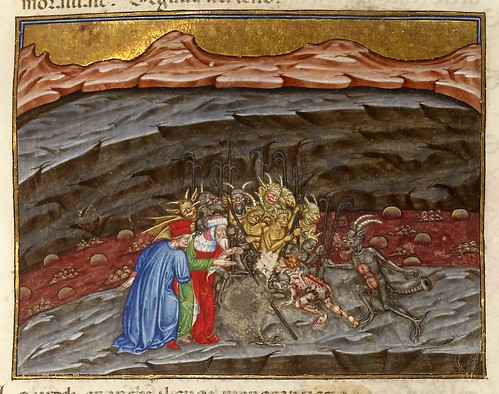 014-Ms 2017- L'Enfer de Dante…1401-1500-Folio 259r- Bibliothèque nationale de France