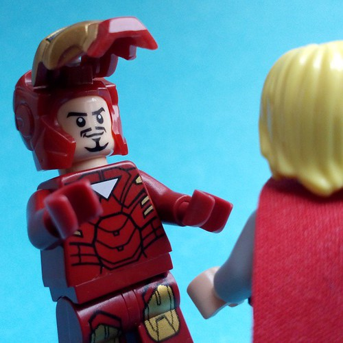 Doth Mother Know You Weareth Her Drapes - Tony Stark