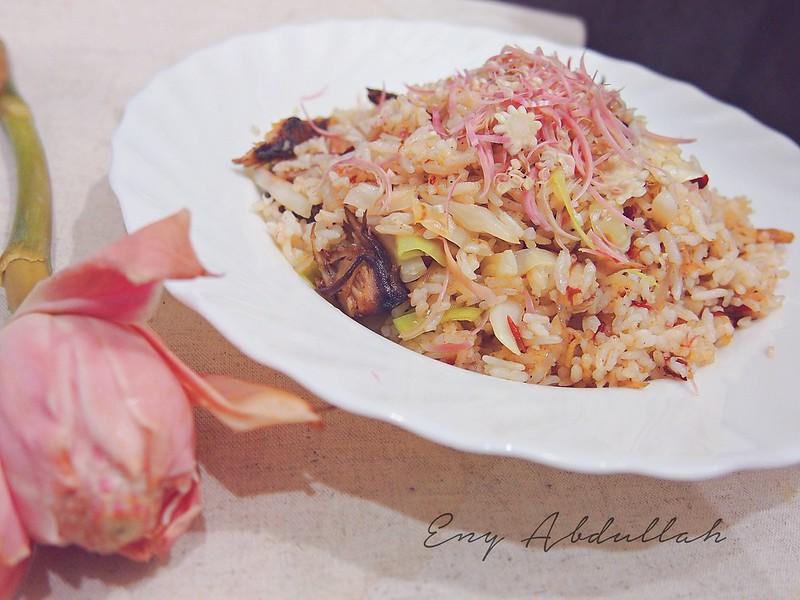Nasi Goreng Ikan Bunga Kantan