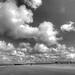"""The sun always shines above the clouds."" by genevieve van doren"