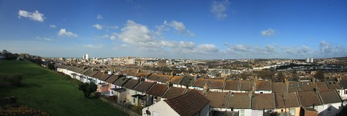 Brighton Panorama from Bentham Road