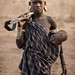 Mursi Tribe Girl holding a Baby and a Rifle, Omo Valley, Ethiopia. © Joel Santos - www.joelsantos.net by Joel Santos - Photography