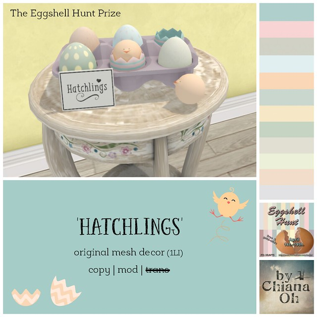 Eggshell Hunt Prize by Chiana Oh