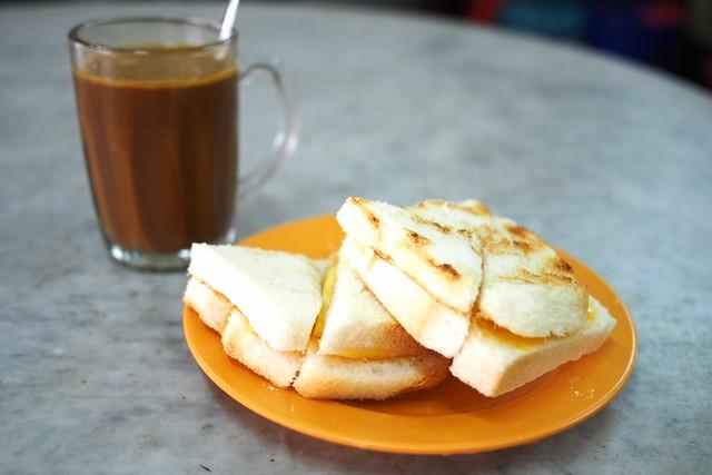 butter kopi and kaya toast, Heap Seng Leong, 10 North Bridge Road, Singapore