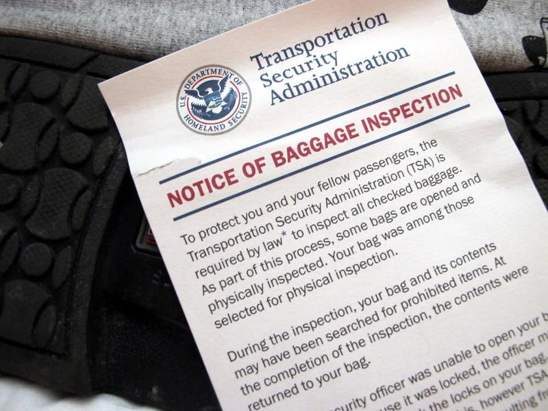TSA fingerprints