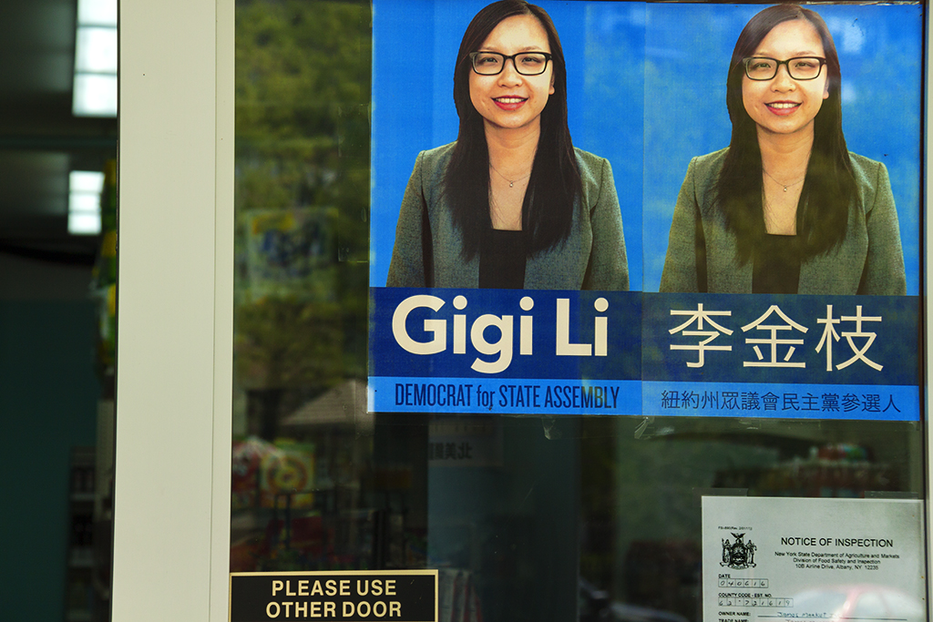 Gigi Li DEMOCRAT FOR STATE ASSEMBLY--Chinatown