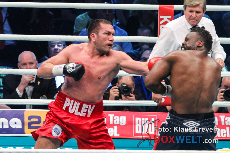 Kubrat Pulev vs Dereck Chisora