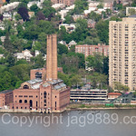 Defunct Glenwood Power Station on the Hudson River, Yonkers, New York