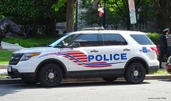 Washington DC Police - Ford Police Interceptor Utility (1)