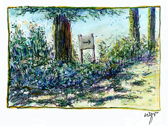 Wolfram Zimmer: Giverny, In the Garden of Monet