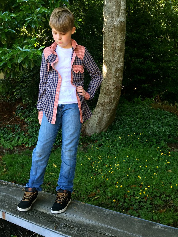 Western-Style Shirt, V. 1