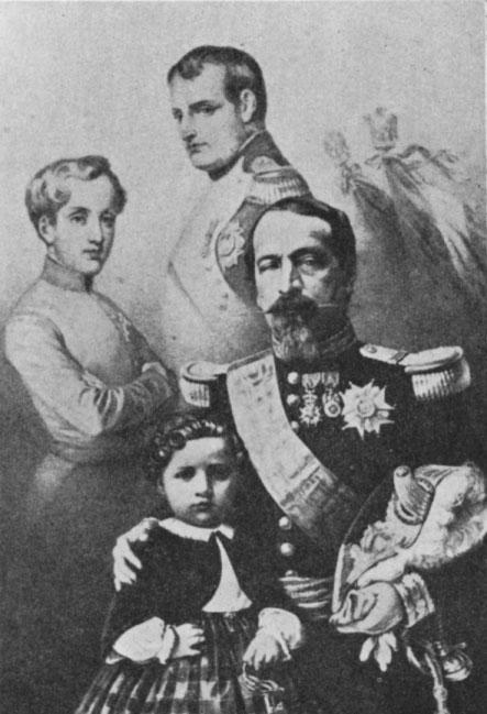 The Four Napoleons c. 1858