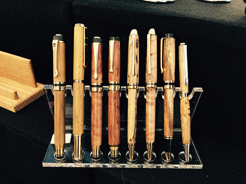 Wooden Pens, Liberty Woodworks, Country Fresh Market 03.2015