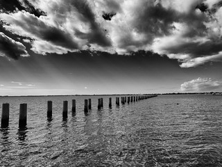 Piers in a row