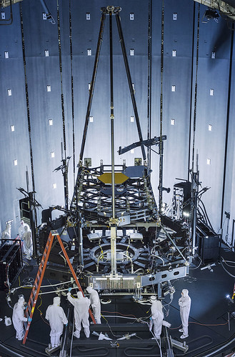 Building Hubble's Successor: Crucial Pathfinder Test Set Up Inside Chamber A