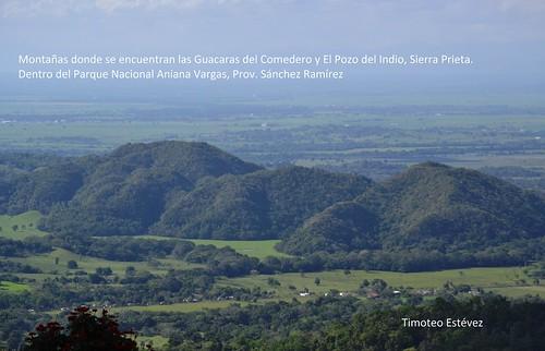 Montañas donde se encuentran las Guacaras del Comedero y Sierra Prieta,