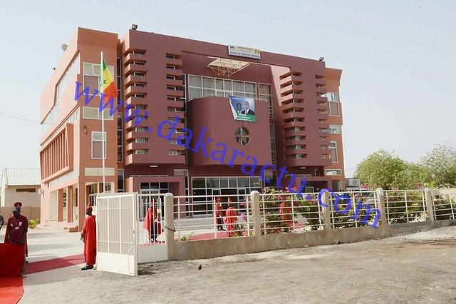 Hôtel de ville de Kaffrine-BorderMaker