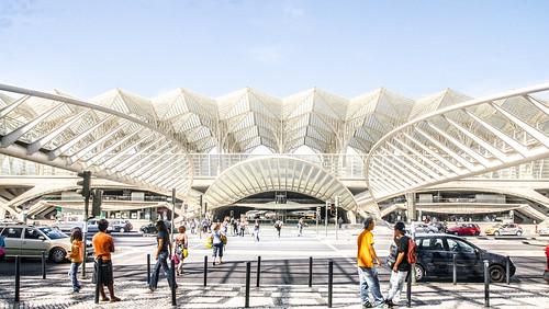 Architekturfoto Calatrava, Lissabon