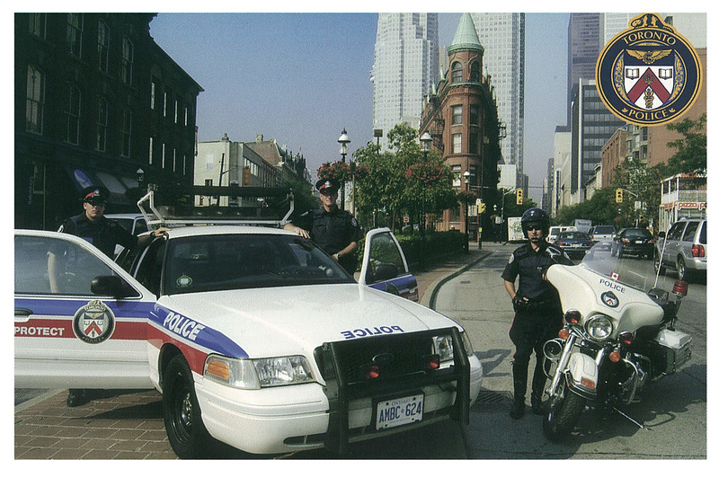 Police  - Toronto Police Traffic Services unit
