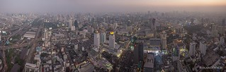 Bangkok - View from Baiyoke II Tower