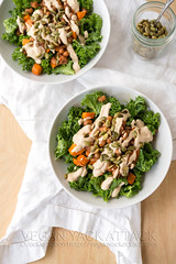 Southern Kale Salad with Smoky Ranch