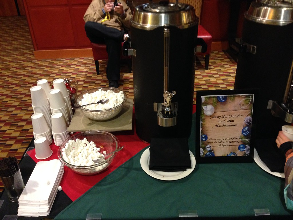 Hot Chocolate in the Lobby