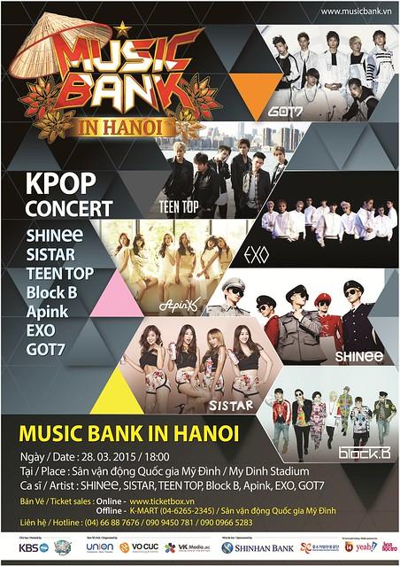 Music Bank in Hanoi sgXCLUSIVE