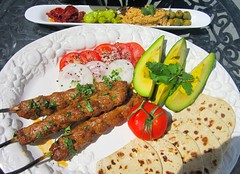 ADANA KEBAB (KIYMA KEBABI) (TURKISH LAMB SKEWER)