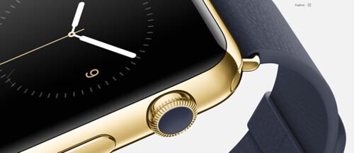 Apple Watch Button