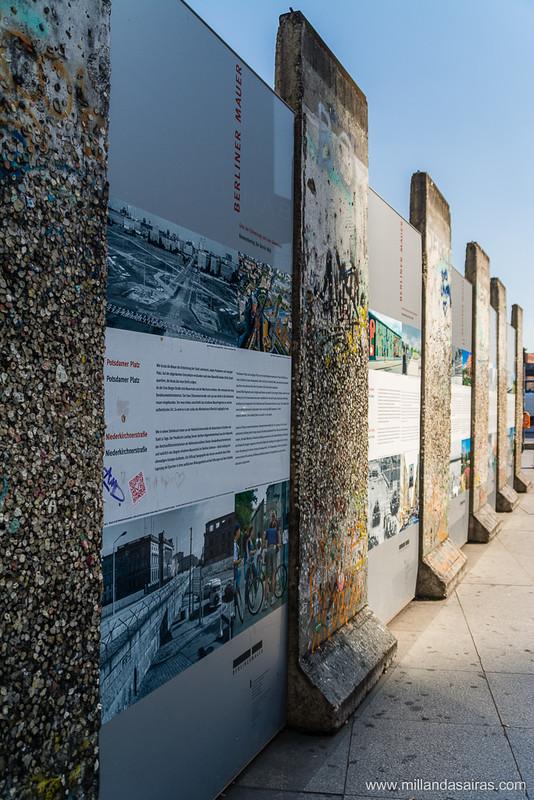 Muro en la Potsdamer Platz
