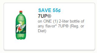 Coupon - $0.55/1 7up Coupon