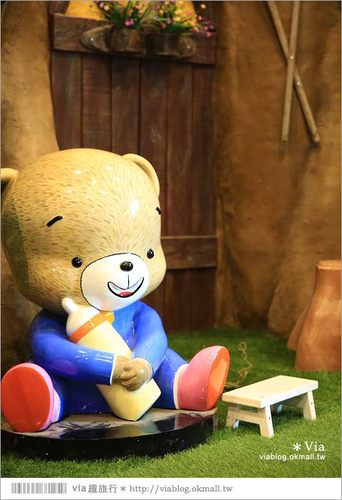 【熊大庄】嘉義民雄熊大庄森林主題園區~新觀光工廠報到!小熊的童話森林真實版20