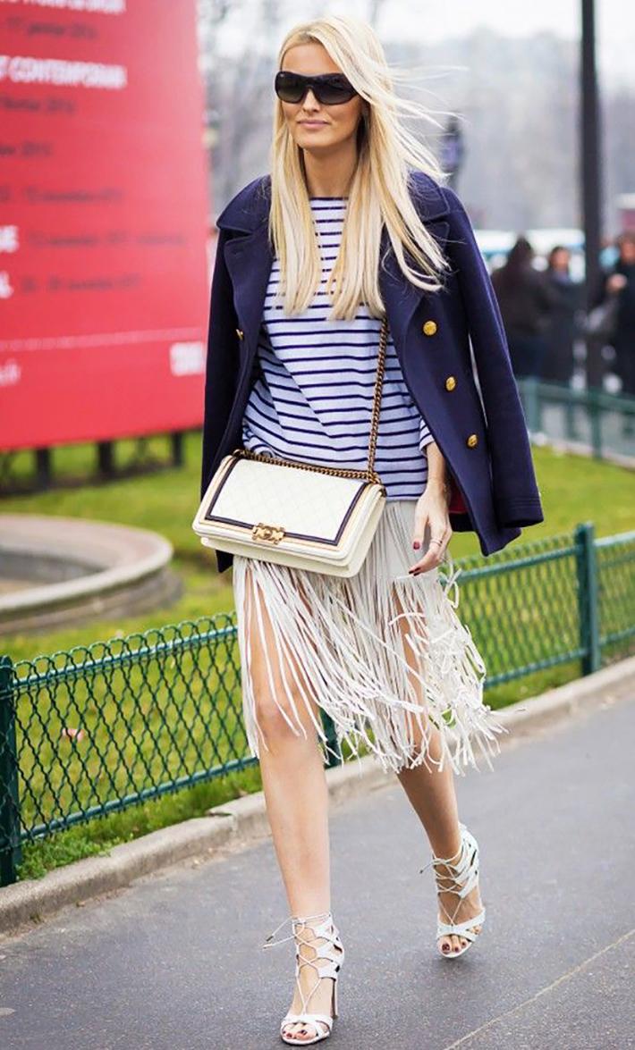 Stripes Navy Style Inspiration Streetstyle09