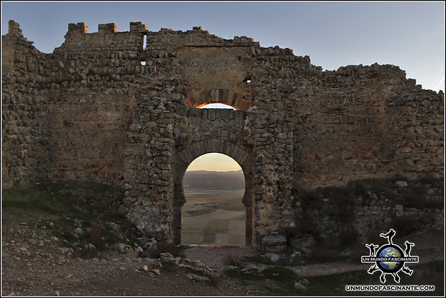 Fortaleza de Gormaz, Soria. España.