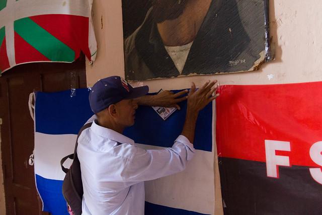 Restoring the Nicaraguan Flag