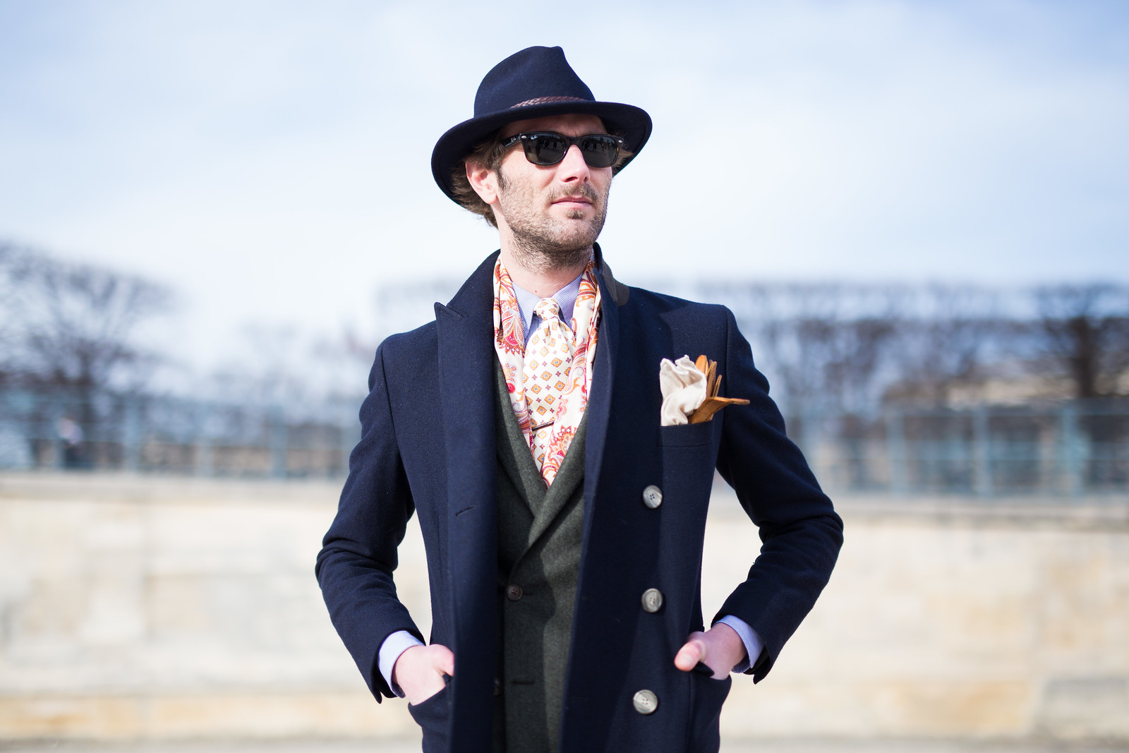 Street Style - Thomas Drischel, Paris Fashion Week
