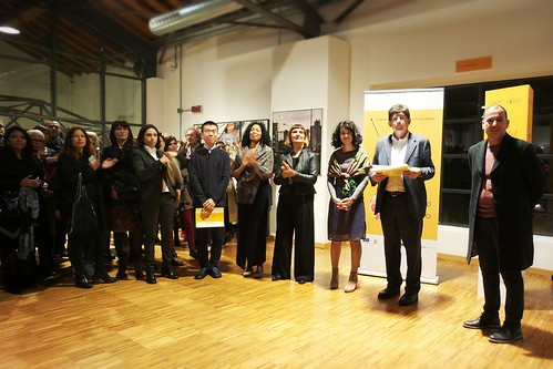 In corso di premiazione Giuria M-WAM by Ylbert Durishti