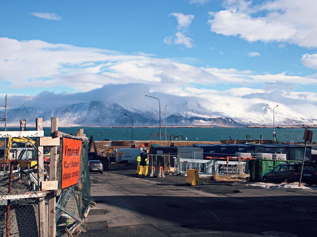 Reykjavik Iceland street view 1