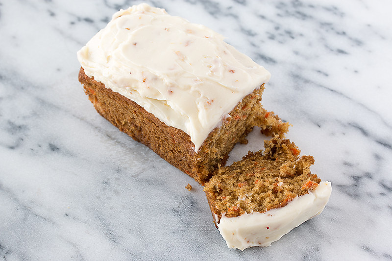 Carrot Ginger Loaves with Ginger Cream Cheese Frosting #KRAFTrecipes