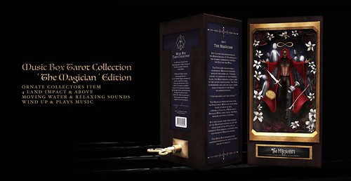 !Ohmai Music Box Tarot Collection : 'The Magician' Edition