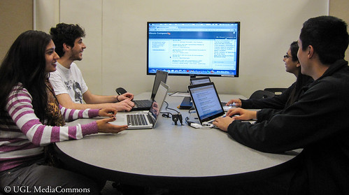 Come to our research/writing cram session! Photo courtesy of the Media Commons