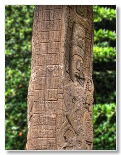 Quiriguá GCA - Stela E, depicting K'ak' Tiliw Chan Yopaat holding a God K sceptre 05