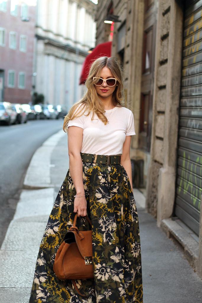 Miss sixty maxi skirt
